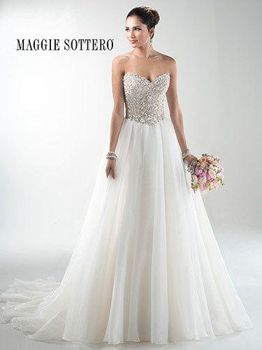 Tmx 1414288191988 3ms745mcfront Rancho Cucamonga, CA wedding dress