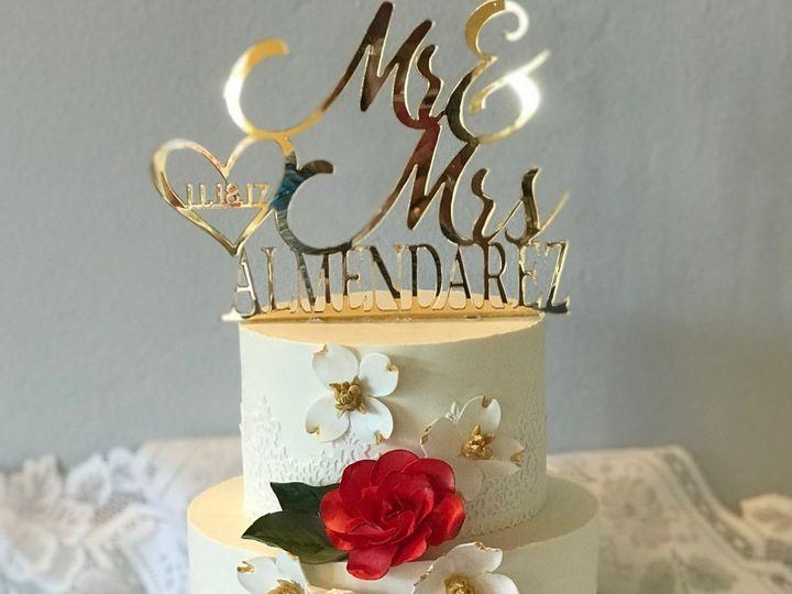 Tmx 1511134214089 17d73037 27e5 435e 9baf B226e63bfb1a Arroyo Grande, CA wedding cake
