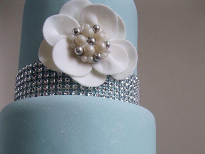 Tmx 1372870149663 Modern Blue Mamaroneck, New York wedding cake