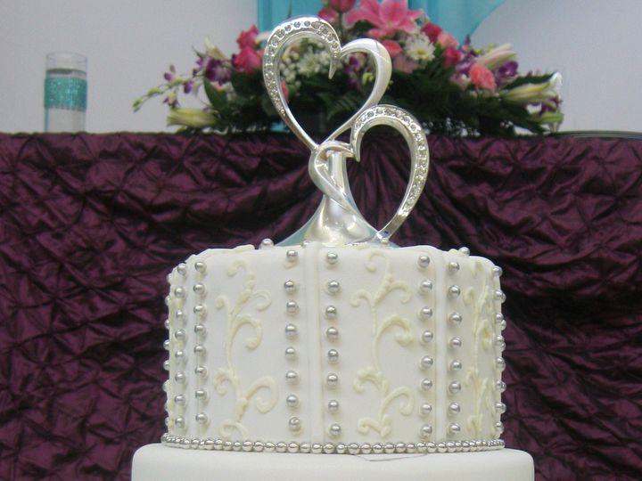 Tmx 1372871163152 Silverhearts Mamaroneck, New York wedding cake