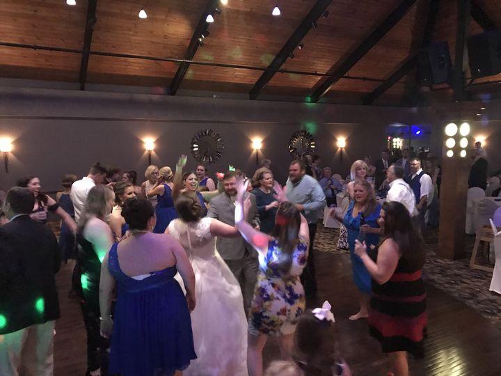 Filled dance floor