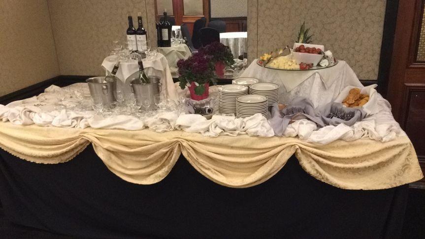 Wine & Cheese Display