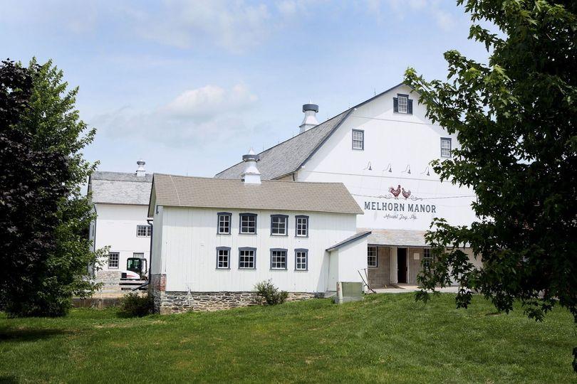 Exterior view of the Melhorn Manor