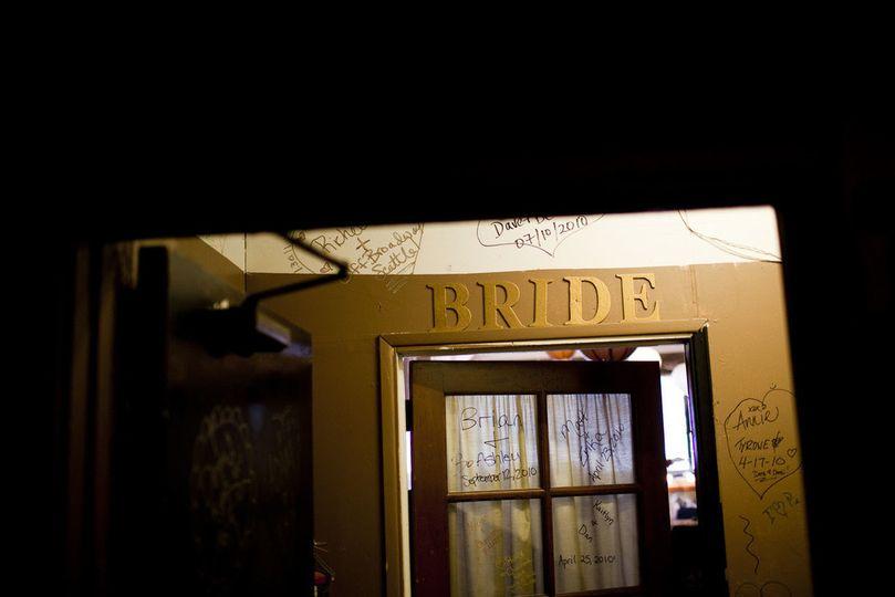 Bride room