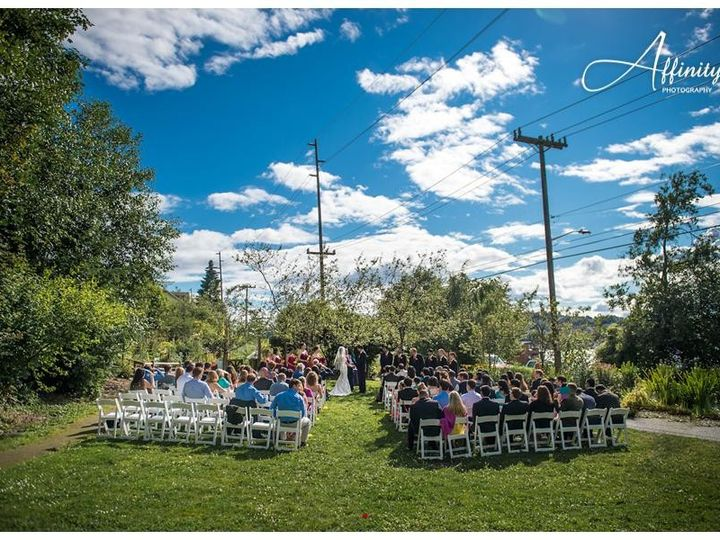 Tmx 1444426355399 14 Fairview Park Wedding Ceremony Seattle wedding venue