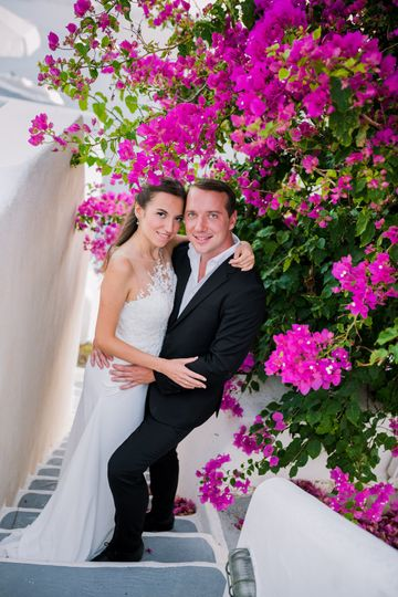 Alina & Alexei | Santorini