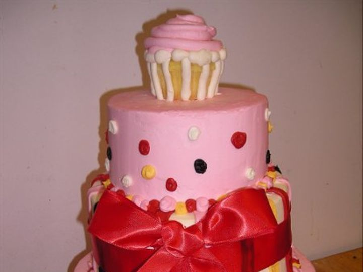 Tmx 1302059611208 Pinktoppseytier007 Burlington wedding cake