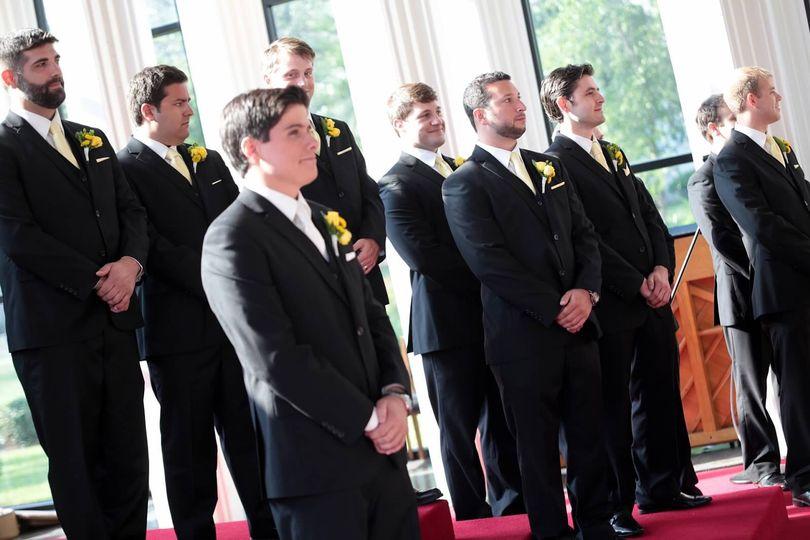 Client Wedding Black 3 Piece Suits Houston, TX