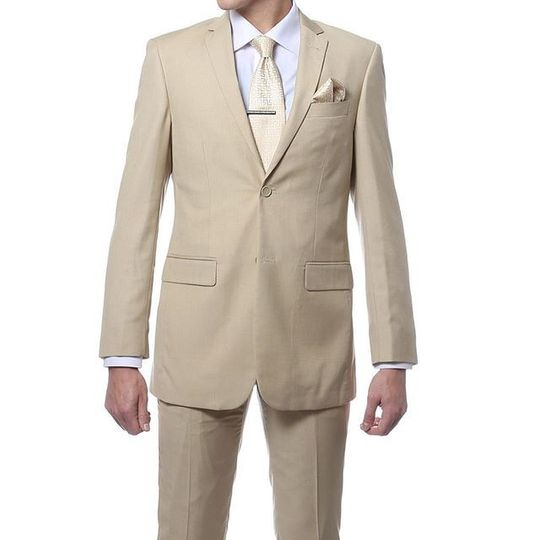 Light Tan Suit available at Bravo Suit and Tux