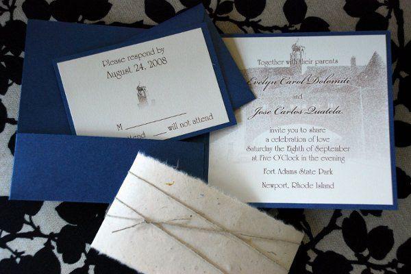 Tmx 1258483786936 IlenealtDSC01581 Roslindale wedding invitation