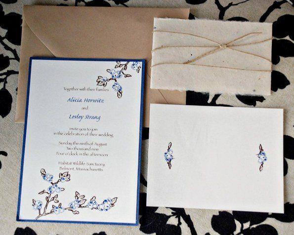Tmx 1295053715913 DSC0120 Roslindale wedding invitation