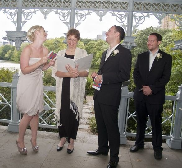 nyc central park wedding officiant