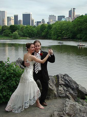 Central Park Lake, Summer wedding NYC