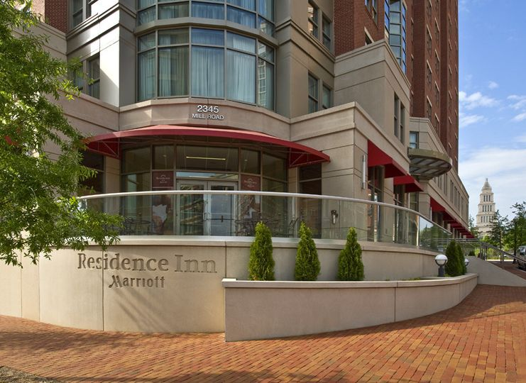 Exterior view of Residence Inn Alexandria Old Town South at Carlyle