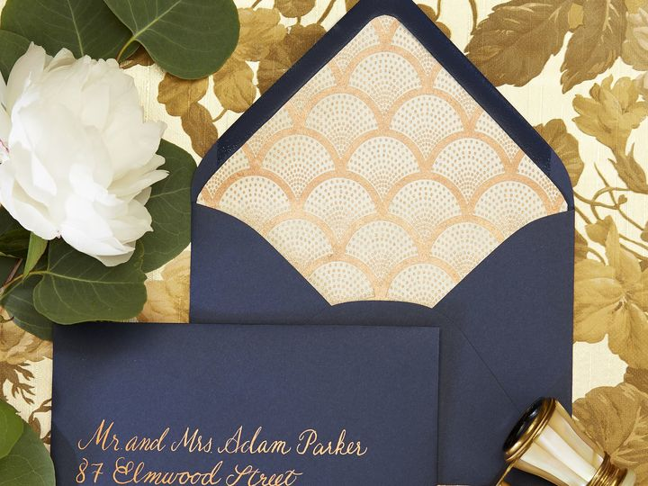 Tmx 1530823729 6ba0ab51a0e22e4b 1530823727 F174cd6b73e60402 1530823720744 21 Blue Gold Alexand Dallas wedding invitation