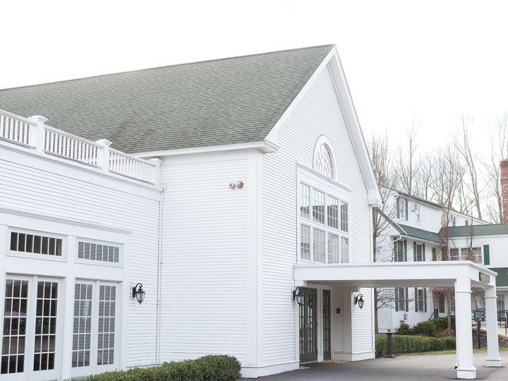Tmx 1510686784137 Chocksett Inn Outside Of Ballroom Winter Sterling, MA wedding venue
