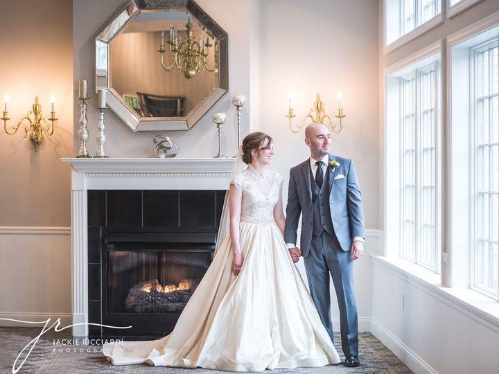 Tmx 1510686826046 Bride  Groom By Fireplace Sterling, MA wedding venue