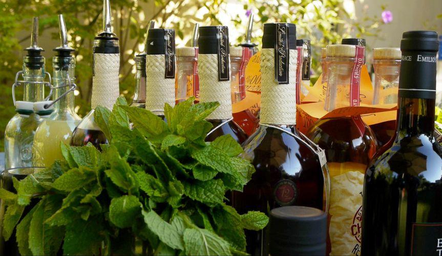 Internationally acclaimed top-shelf alcohols
