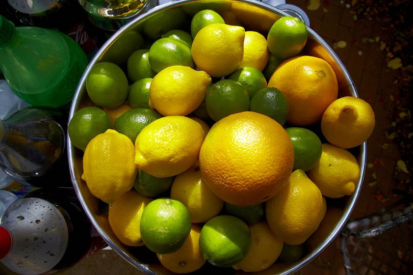 Farmer's market organic citrus