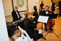 Playing during a wedding