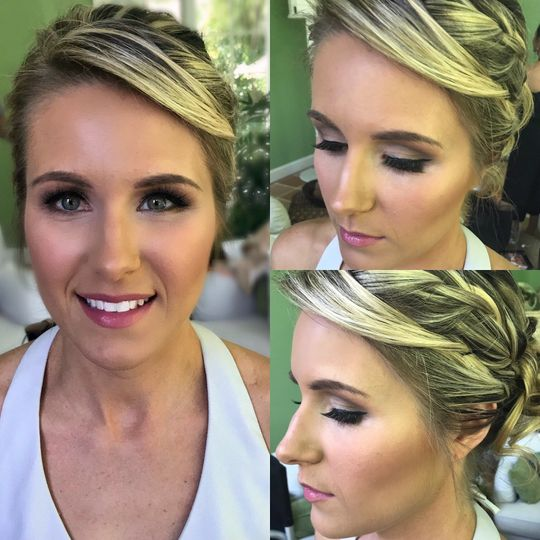 Wedding eye look