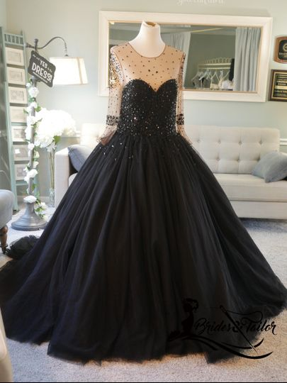 Black Dress by Brides & Tailor