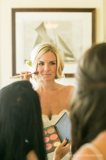 With the bride | Photo: Brad Smith Photography www.smithbrad.comHair: Alexandra Eisemann for Allison...