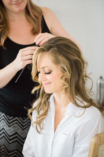 Beautiful bride | Photo: Deborah Zoe PhotographyMakeup: Allison Barbera