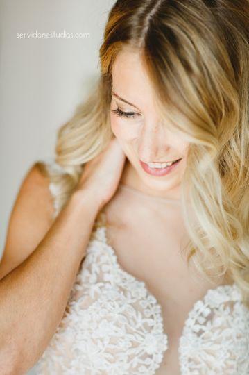 Dirty blonde | Photo: Servidone StudiosMakeup: Alexis Frankian-Warnajtys for Allison Barbera...