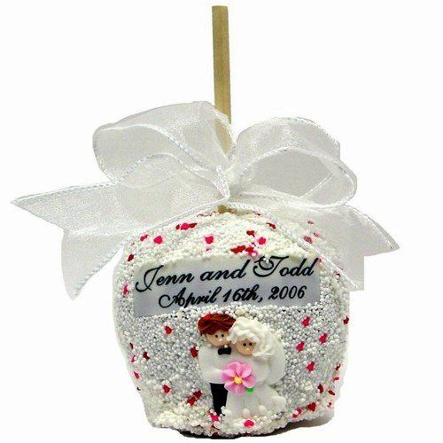 Wedding chocolate covered apple