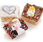 Wedding Marshmallow Krispie Favor