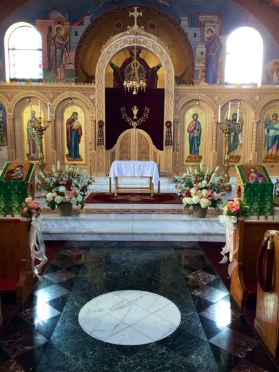 The altar