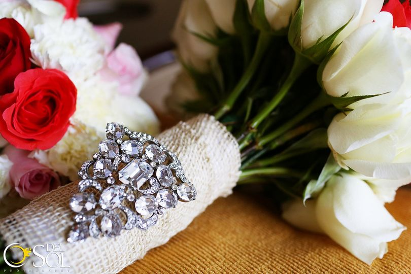 Bedazzled bouquet