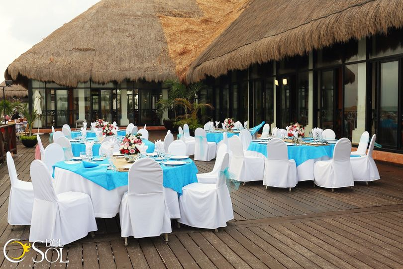 Reception hall outdoors