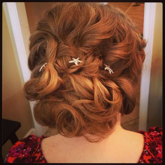 wedding wire updo style