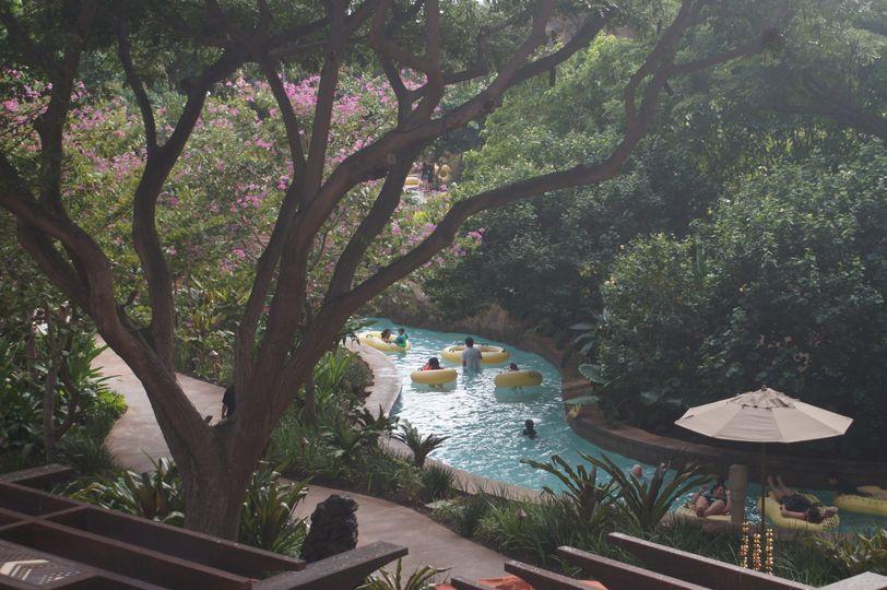 Disney's Aulani Resort, Oahu Lazy River pool