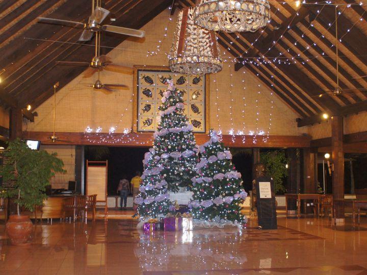 Tmx 1448057102365 Ic Ppt Lobby Christmas Tree Orangevale wedding travel