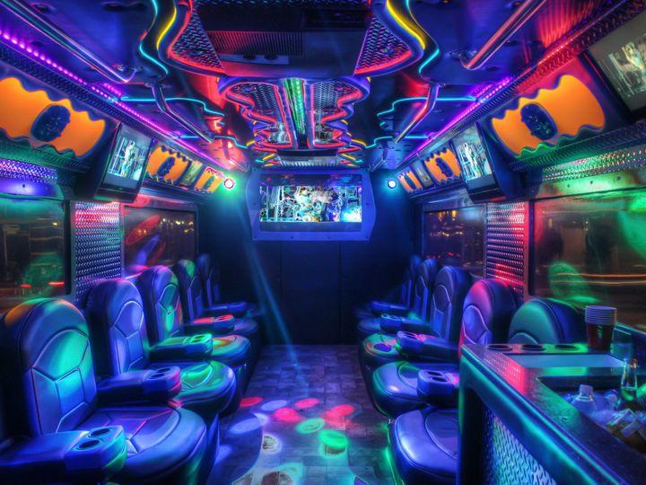 Tmx 1403625266438 Armored Limo Interior 1 Alva wedding transportation
