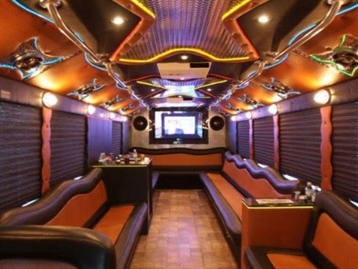 Tmx 1403625409070 Extreme Limo Party Bus Interior Alva wedding transportation
