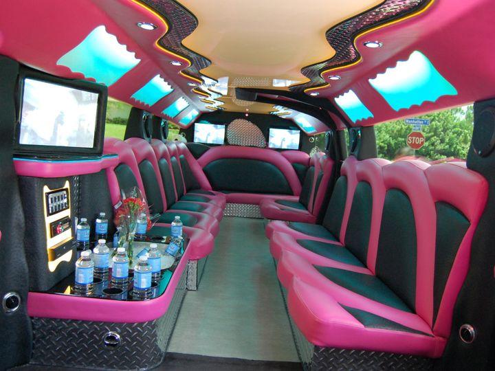 Tmx 1403625433104 Pink Hummer Limo Interior Alva wedding transportation