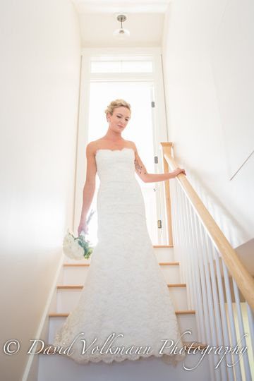 bride staircase all ready