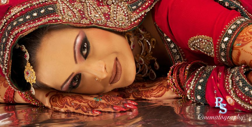 indian bride or woman