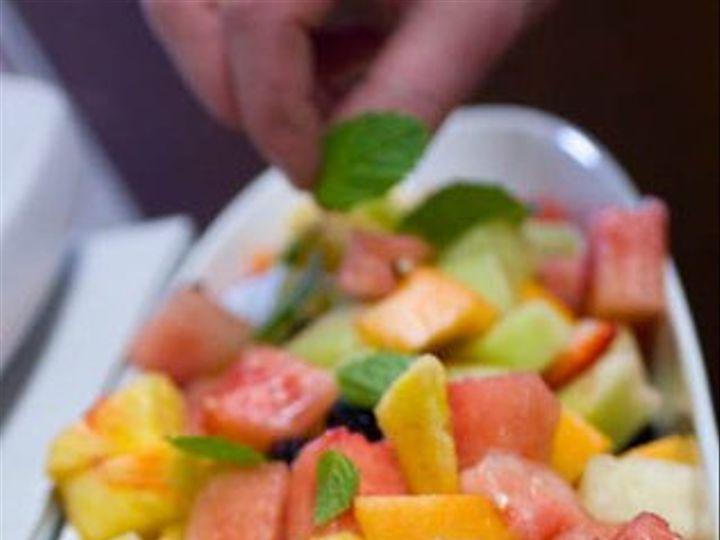 Tmx 1278706833890 FreshFruitSaladwithMintLeaf Hanover, MA wedding catering