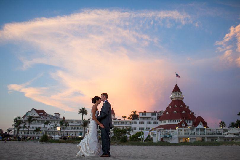 Hotel del Coronado - Where weddings make history.