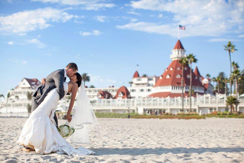 hotel del coronado beach weddi