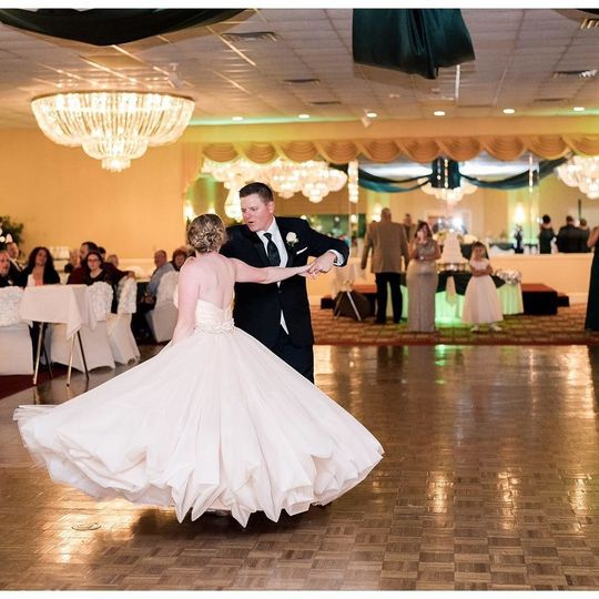Bride and Groom  had a ball1