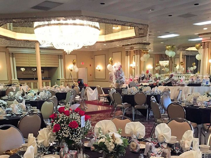 Tmx 1506614987446 Black Table Setting Olyphant, PA wedding venue