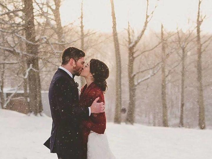 Tmx 1516291601 509a6816cc04986a 1516291600 Ee9ace9c6aaa9b98 1516291677943 3 Couple Snow Olyphant, PA wedding venue