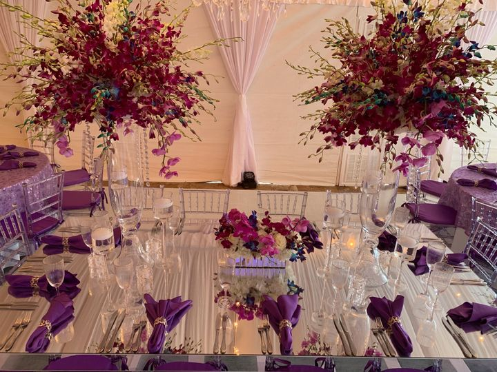 Mirrored Royal Table