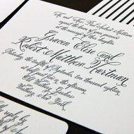 Elegant invite